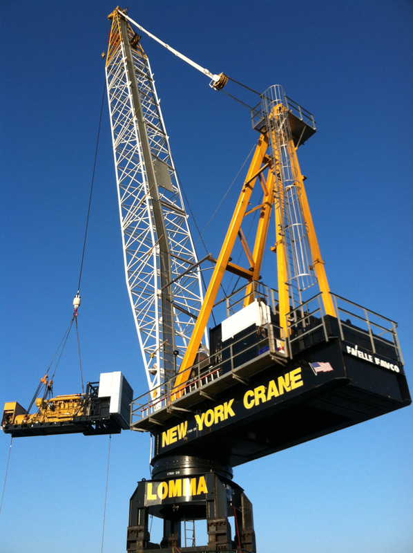 Tower Crane New York : New york crane